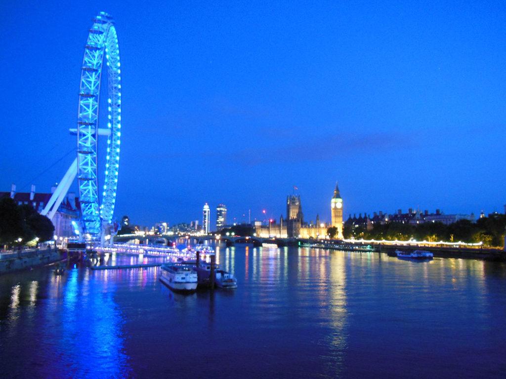 Night Time London