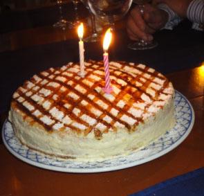 Non Chocolate Cake