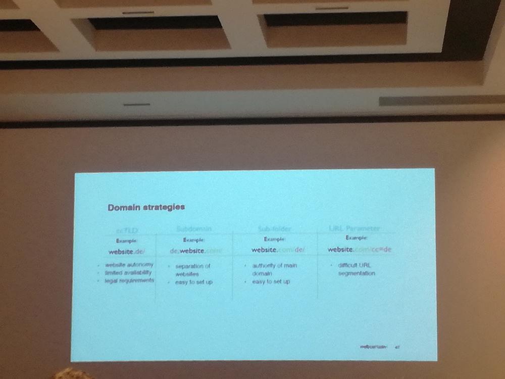 Domain strategies